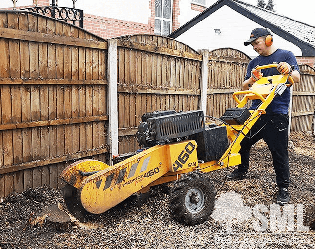 Stump Removal - Stump Grinding - SML Tree & Hedge Services